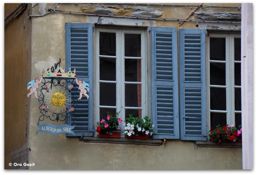 חלון יפה - טיול בנות - ברגמו