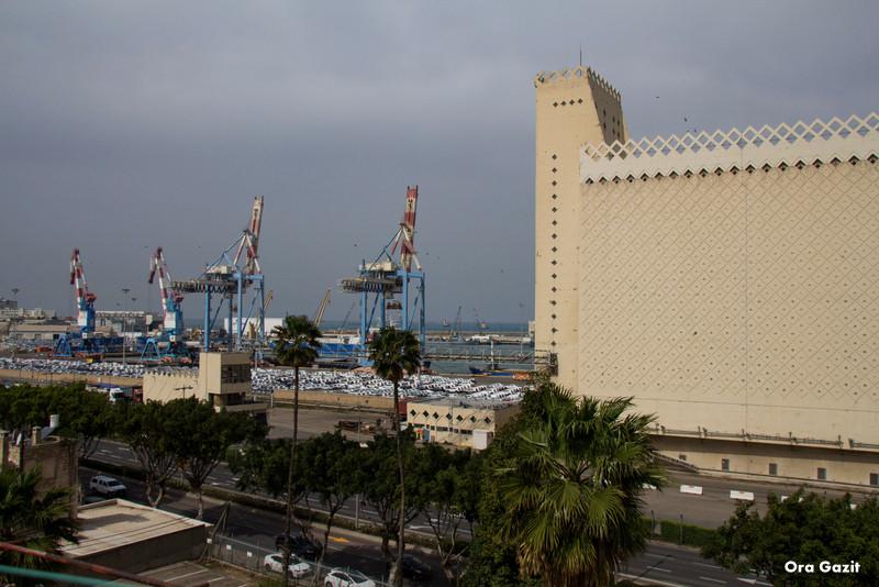 ממגורות דגון ונמל חיפה - שביל חיפה - טרק - טיול בחיפה