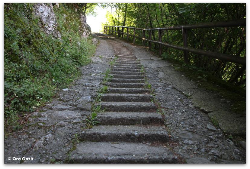 מדרגות - אזור האגמים - צפון איטליה
