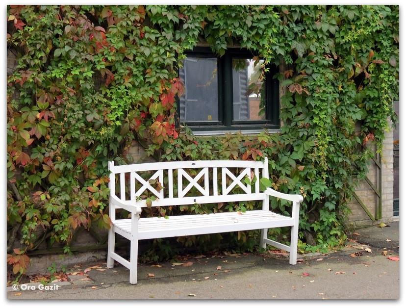 ספסל לבן - זכרונות - קופנהגן