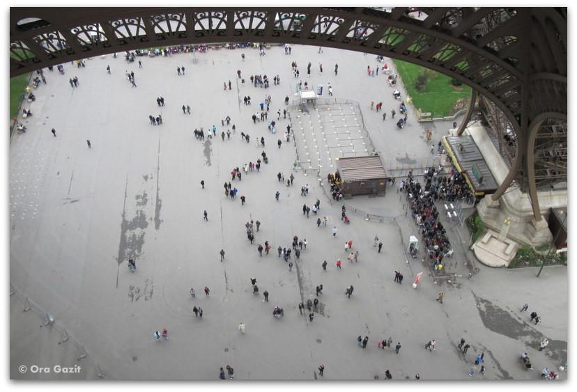 מגדל אייפל, פריז, תצפית