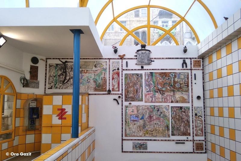 הכרמלית - אטרקציות בחיפה - אמנות רחוב