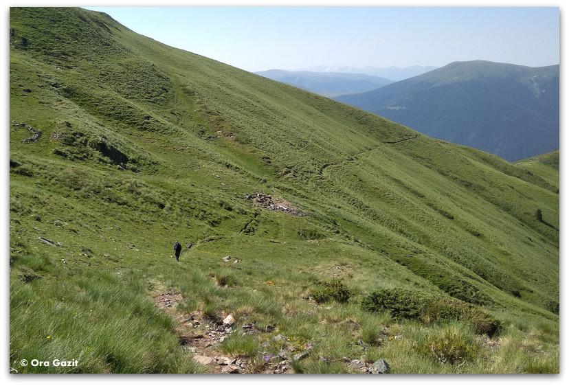 שביל בהרים - טרק הרי רילה בולגריה - יומן מסע