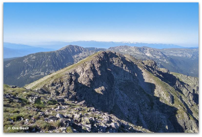 נוף הררי - הרי רילה בולגריה - טרקים בבולגריה - יומן מסע