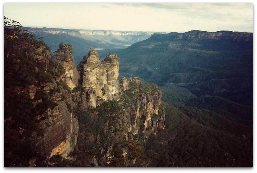 ההרים הכחולים - טרק - טיול לאוסטרליה