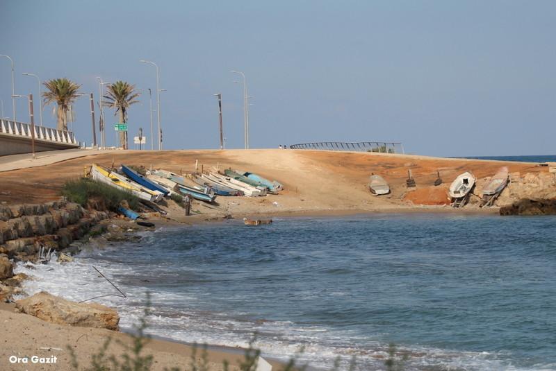 מעגן סירות דייג - שביל חיפה - טרק - טיול בחיפה