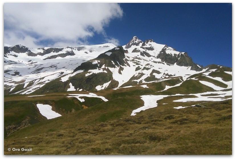 האלפים הצרפתיים - טרק - סובב מון בלאן