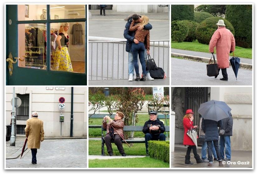 אנשים ברחוב - וינה