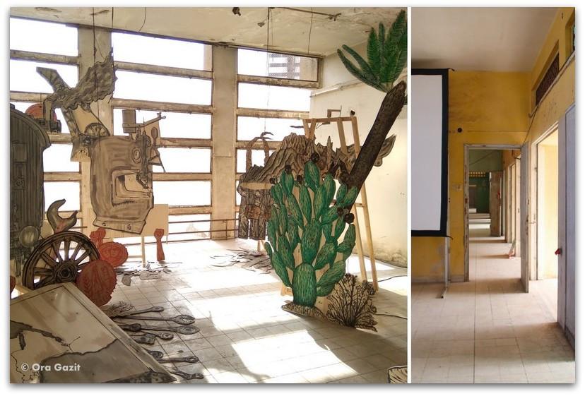מבנה שוק תלפיות - סיורים בחיפה - בתים מבפנים - באוהאוס