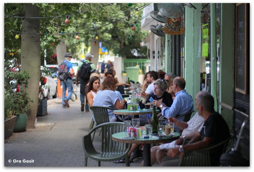 בית קפה - סיורים מודרכים בתל אביב - תל אביב