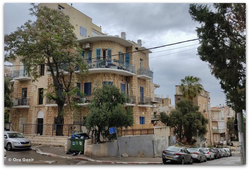 רחוב השלום - רחובות בהדר - שמות רחובות בחיפה - טיול בחיפה