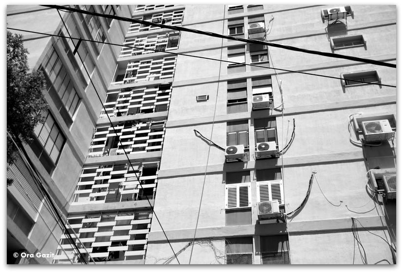 בניין רב קומתי - מה לעשות בחיפה - מסלול 1000 המדרגות