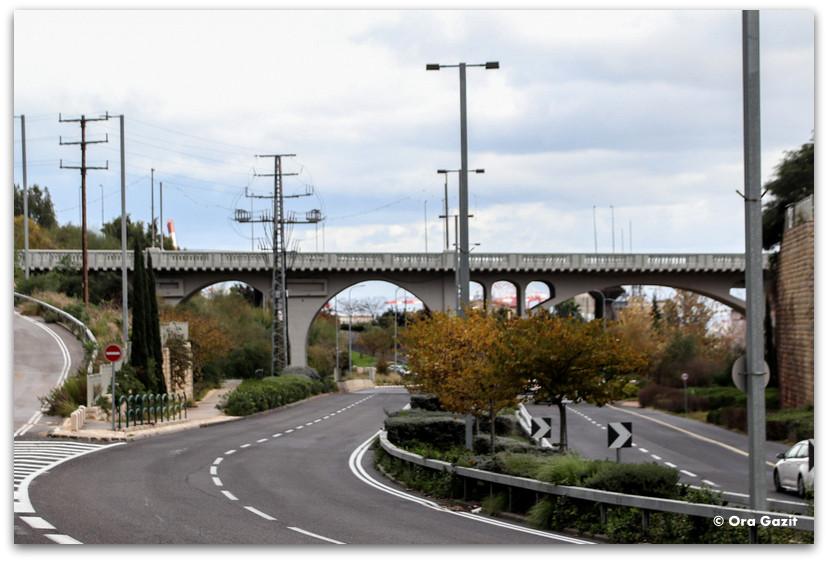גשר רושמיה - נחל הגיבורים מסלול - ואדי רושמיה - טיול בחיפה