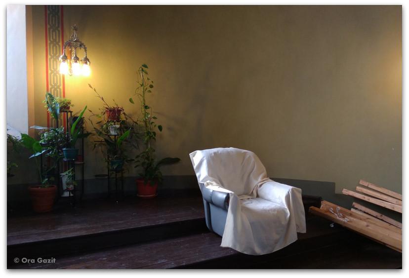 סופיה בולגריה - טיול עירוני - בית הכנסת הגדול - כורסה