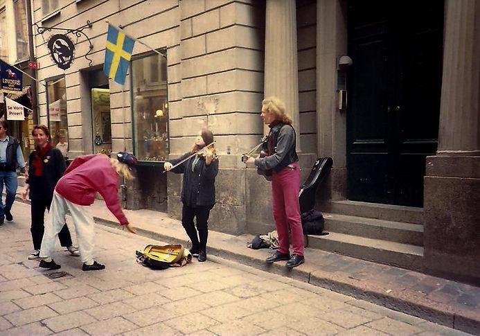 נגני רחוב, שבדיה - יומן מסע - טיול אחרי צבא