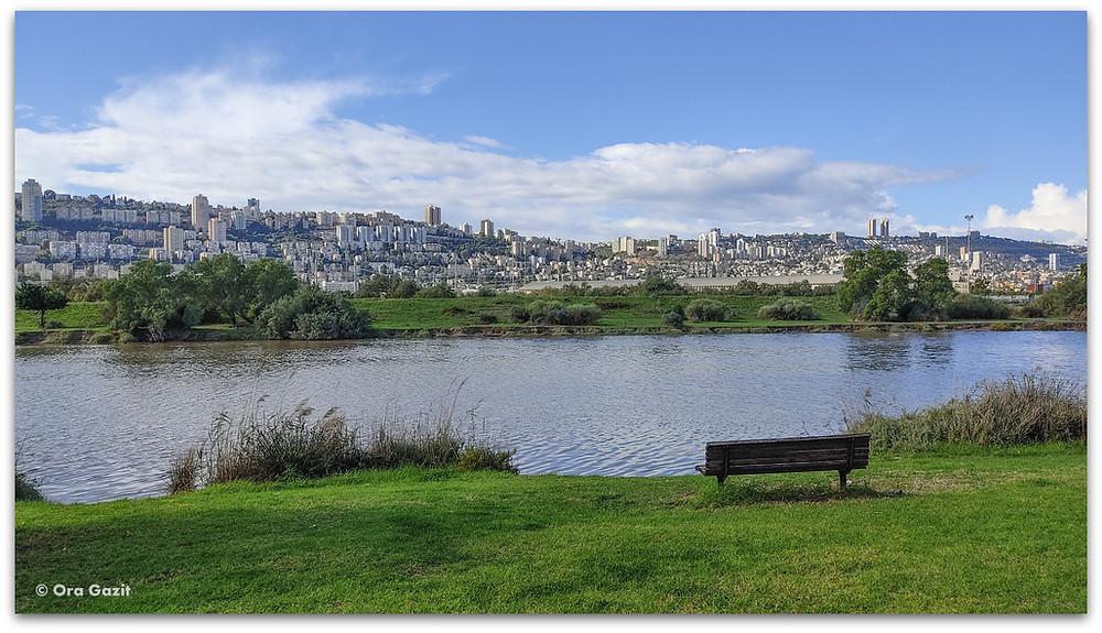 פארק הקישון - תצפיות בחיפה - דרך נוף חיפה