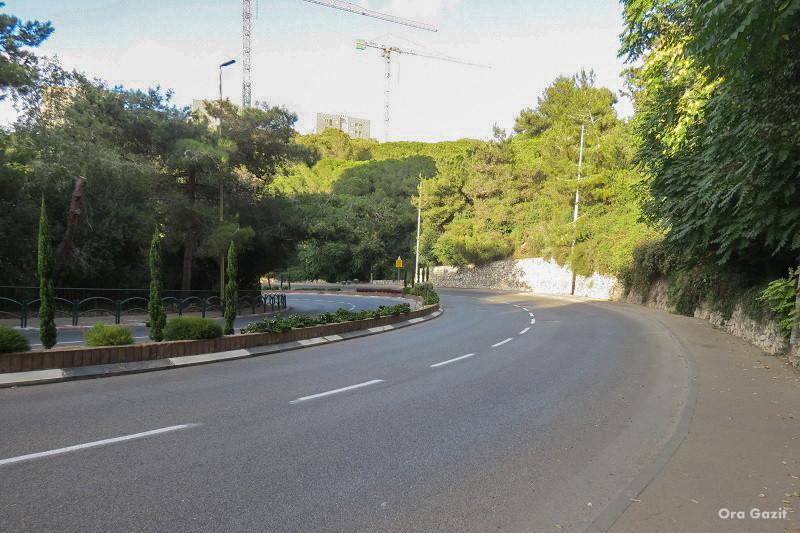 כביש בעליה - שביל חיפה - טרק - טיול בחיפה