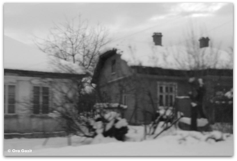 בתים בשלג - מלחמת יום כיפור