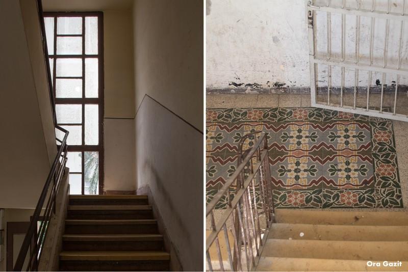 חדר מדרגות מסוגנן - שביל חיפה - טרק - טיול בחיפה