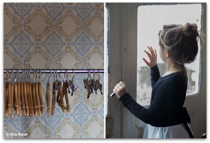 ילדה עומדת בחלון - מתנות ליום הולדת