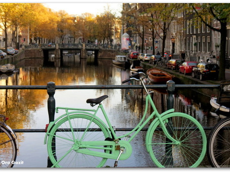 אמסטרדם - עיר עם עיני ענבר