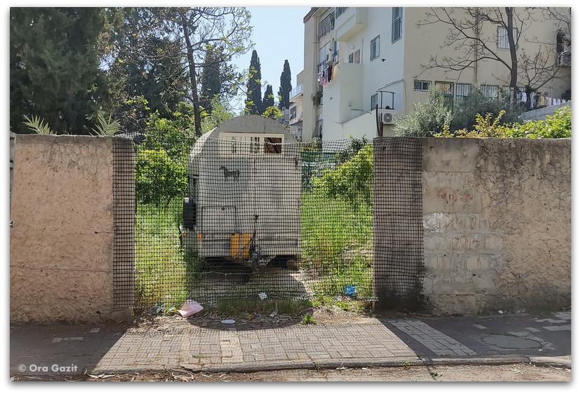 קרון סוסים - שכונת חליסה - שמות רחובות בחיפה - טיול בחיפה