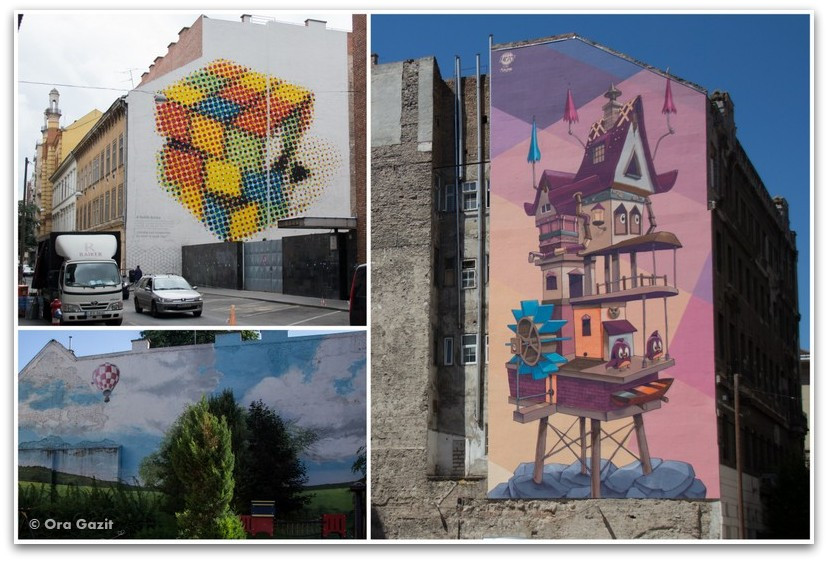 אמנות רחוב - טיול בבודפשט - הונגריה