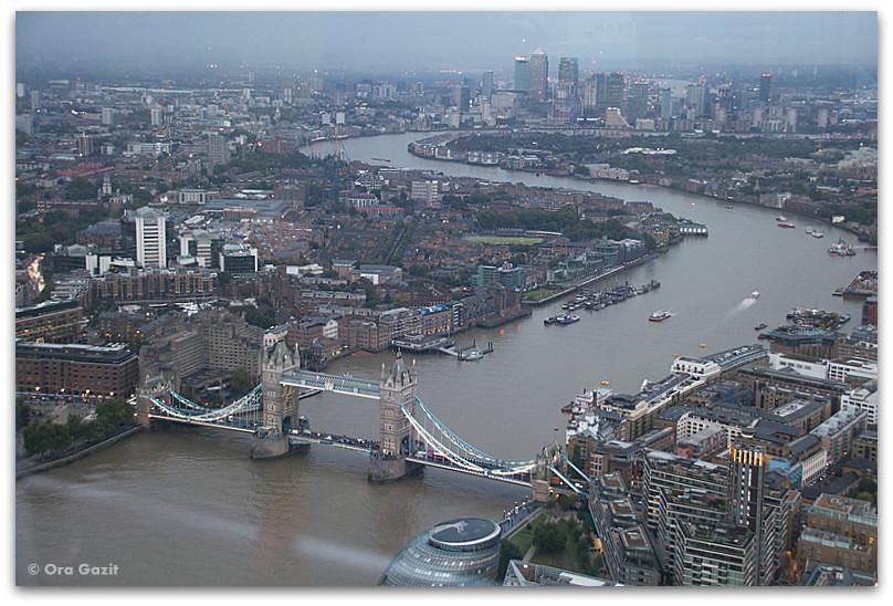 תצפית על העיר - לונדון - יומן מסע