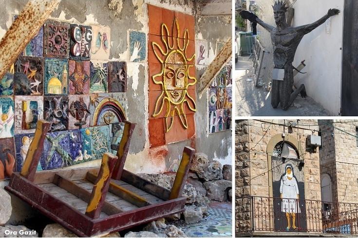 אמנות - ואדי ניסנאס - שביל חיפה - טרק - טיול בחיפה