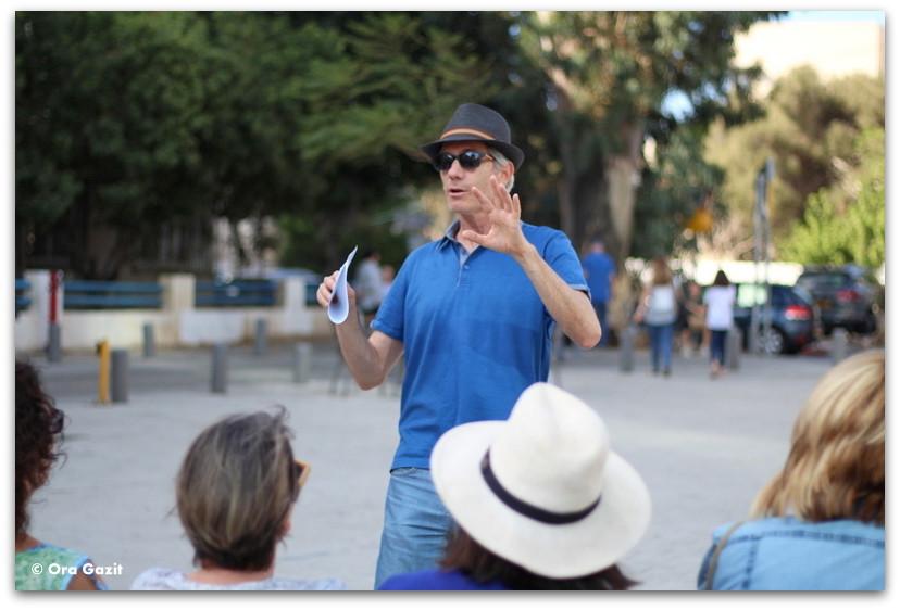 גיא שחר - סיורים מודרכים בתל אביב - תל אביב