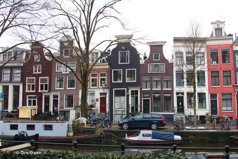 בתים צבעוניים - אמסטרדם המלצות - אמסטרדם בחורף