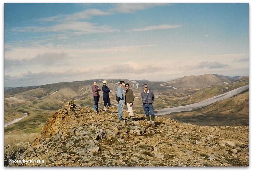 חבורת המטיילים - טרק - לנדמנלאוגר - איסלנד