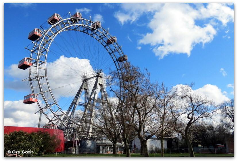 גלגל ענק - לונה פארק - וינה
