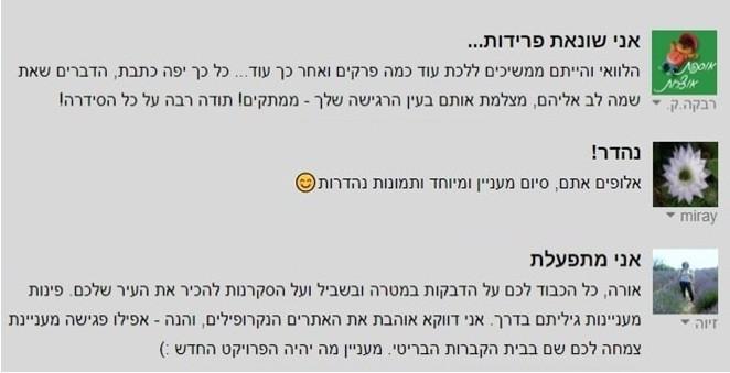 שביל חיפה - תגובות