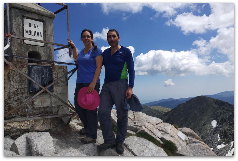 על פסגת המוסלה - הרי רילה- טרקים בבולגריה - יומן מסע