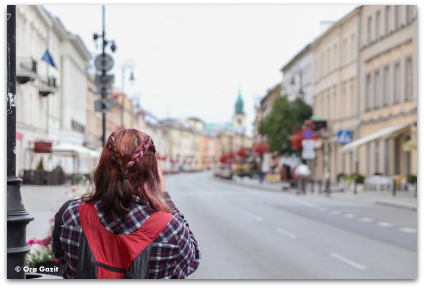 רחוב נובי שוויאט - טיול בורשה - מה לעשות בורשה