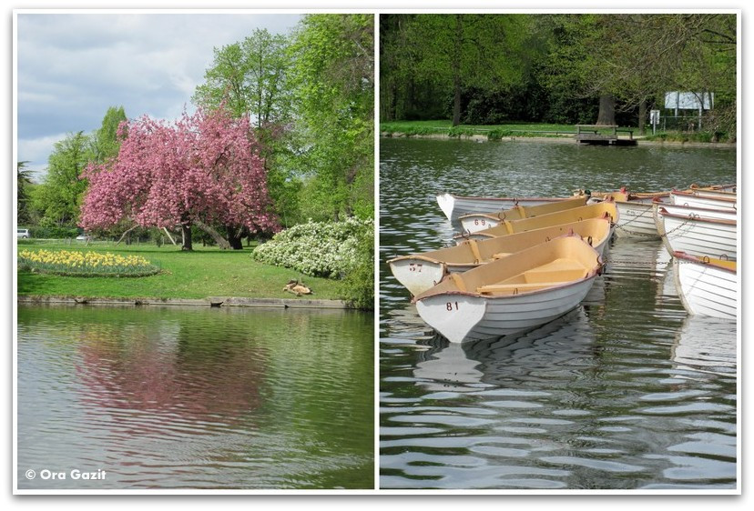 סירות, יער בולון, פריז
