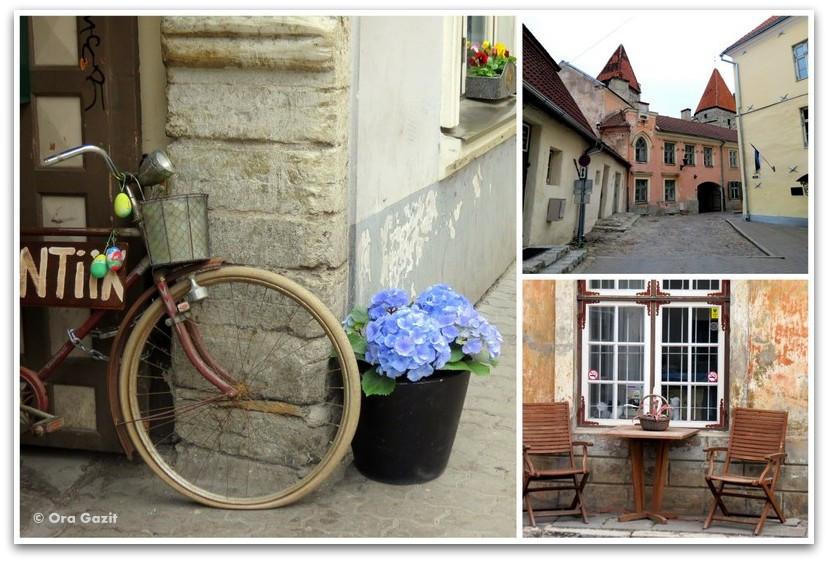 רחובות העיר - טאלין, אסטוניה