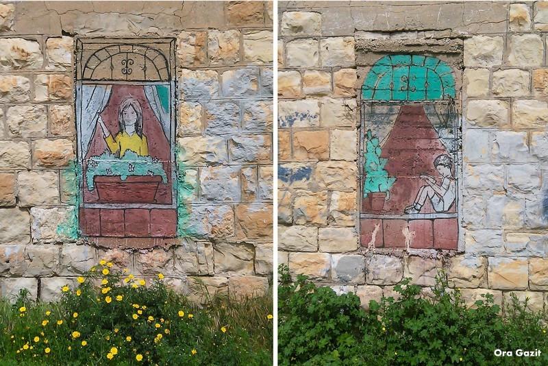 ציור קיר - חיפה אל עתיקה - שביל חיפה - טרק - טיול בחיפה