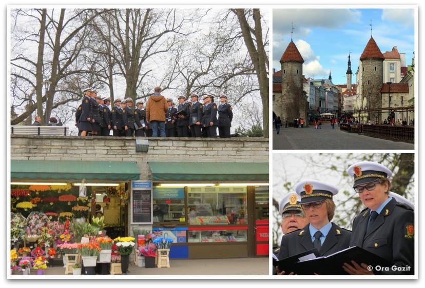 מקהלת המשטרה הנורבגית - טאלין, אסטוניה