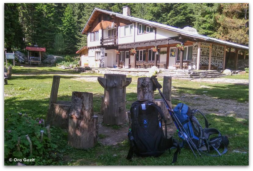 בקתת סקקביצה - שבעת האגמים - טרק הרי רילה בולגריה - יומן מסע