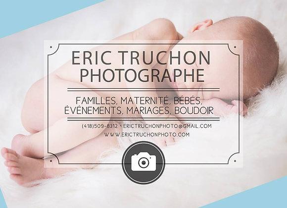 Éric Truchon, Photographe
