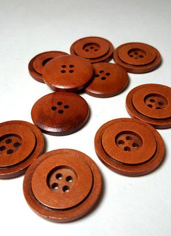 Lot de 8 boutons 3 cm #BA03
