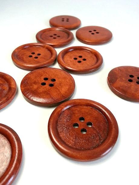 Lot de 10 boutons 3.5 cm #496