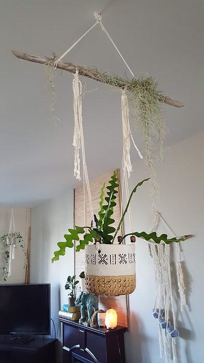 Jardinière balançoire