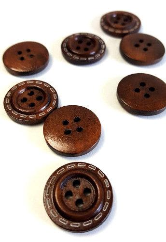 Lot de 15 boutons 1.8 cm #SS1707