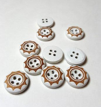 Lot de 20 boutons 1,5 cm # BA05