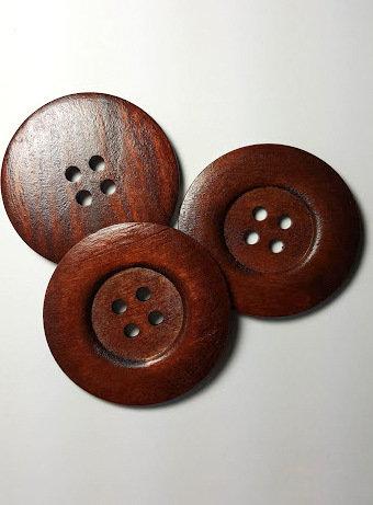Lot de 3 gros boutons 6 cm # BA10