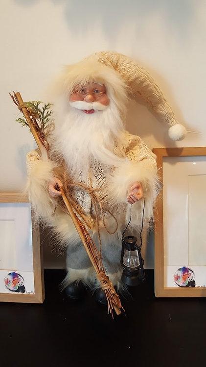 """Père Noël ivoire 18"""""""
