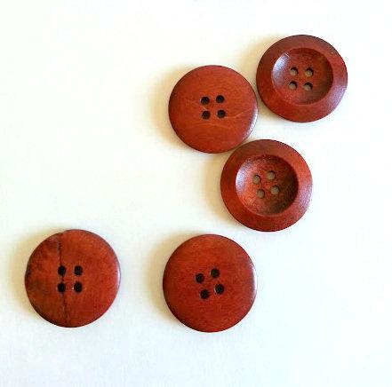 Lot de 10 boutons 3 cm # 383